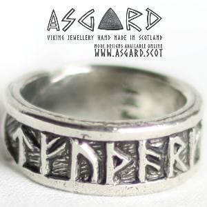 Wikinger Runen-Ring bei Asgard)