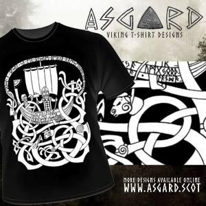 Wikinger Tattoo T-Shirt bei Asgard)