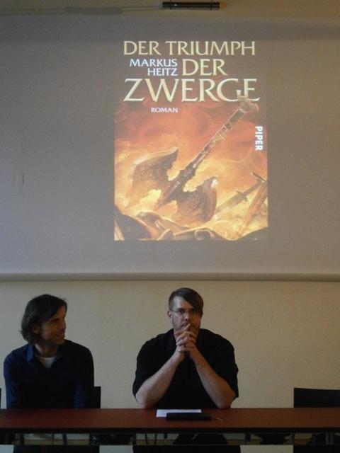 Markus Heitz liest Der Triumph der Zwerge