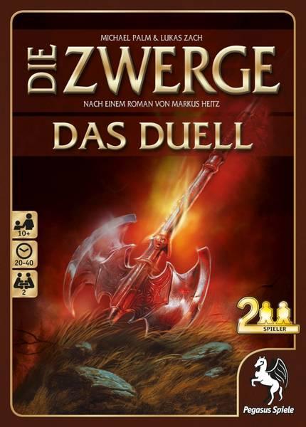 Die Zwerge: Das Duell. 2-Spieler Kartenspiel nach Markus Heitz' Zwerge-Romanen