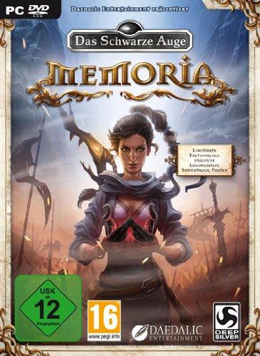 Buch-Cover,  Daedalic Entertainment: Memoria