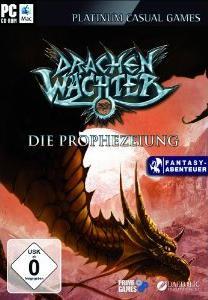 Buch-Cover,  Daedalic Entertainment: Drachenwächter - Die Prophezeiung [Computerspiel]