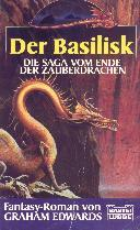 Buch-Cover, Graham Edwards: Der Basilisk