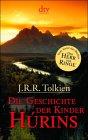 Buch-Cover, John Ronald Reuel Tolkien: Die Geschichte der Kinder Húrins