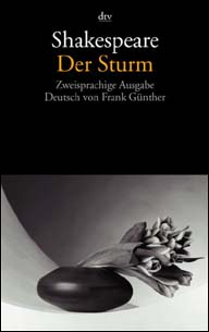Buch-Cover, William Shakespeare: Der Sturm