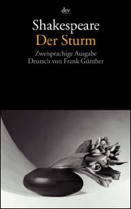 Buch-Cover, William Shakespeare: Der Sturm