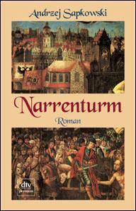 Buch-Cover, Andrzej Sapkowski: Narrenturm