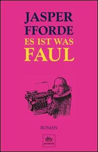 Buch-Cover, Jasper Fforde: Es ist was faul