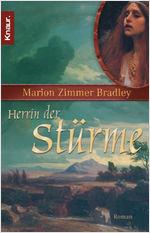 Buch-Cover, Marion Zimmer-Bradley: Herrin der Stürme