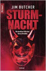 Buch-Cover, Jim Butcher: Sturmnacht