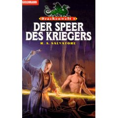Buch-Cover, Robert Anthony Salvatore: Der Speer des Kriegers