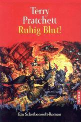 Buch-Cover, Terry Pratchett: Ruhig Blut!
