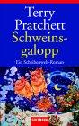 Buch-Cover, Terry Pratchett: Schweinsgalopp
