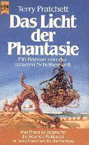 Buch-Cover, Terry Pratchett: Das Licht der Phantasie