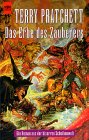 Buch-Cover, Terry Pratchett: Das Erbe des Zauberers