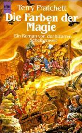 Buch-Cover, Terry Pratchett: Die Farben der Magie