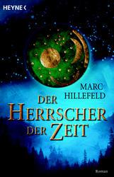 Buch-Cover, Marc Hillefeld: Der Herrscher der Zeit