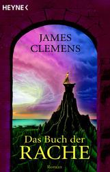 Buch-Cover, James Clemens: Das Buch der Rache