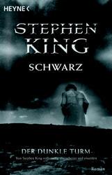 Buch-Cover, Stephen King: Schwarz