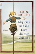 Buch-Cover, Eoin Colfer: Meg Finn und die Liste der vier Wünsche