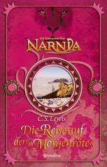Buch-Cover, C.S. Lewis: Die Reise auf der Morgenröte