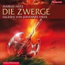 Buch-Cover, Markus Heitz: Die Zwerge [Hörbuch]