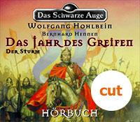 Buch-Cover, Bernhard Hennen: Das Jahr des Greifen. Der Sturm.