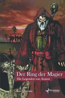 Buch-Cover, Jens Salzmann: Der Ring der Magier