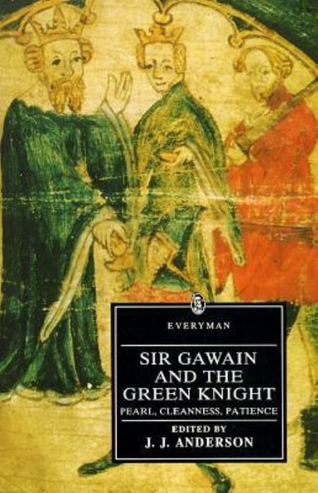 Buch-Cover, Der Gawain-Poet: Sir Gawain and the Green Knight
