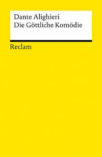 Buch-Cover, Dante Alighieri: Die Göttliche Komödie - Inferno