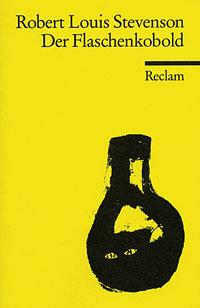 Buch-Cover, Robert Louis Stevenson: Der Flaschenkobold