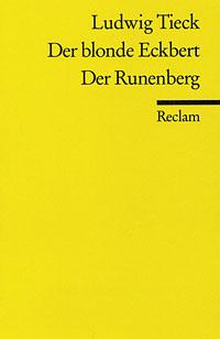 Buch-Cover, Ludwig Tieck: Der blonde Eckbert