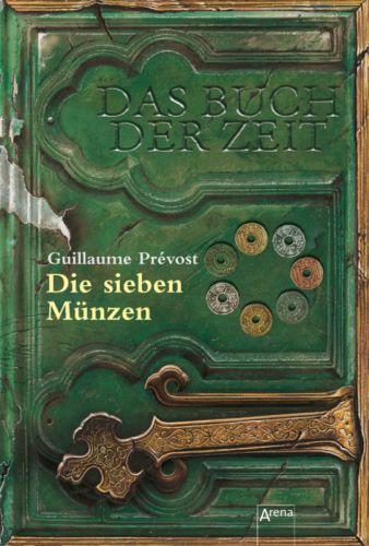 Buch-Cover, Guillaume Prevost: Die sieben Münzen