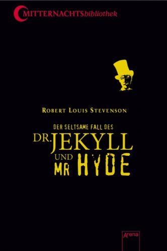 Buch-Cover, Robert Louis Stevenson: Der seltsame Fall des Dr. Jekyll und Mr. Hyde