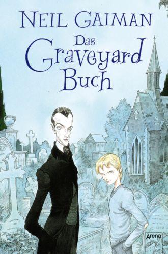 Buch-Cover, Neil Gaiman: Das Graveyard-Buch