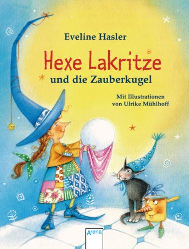 Buch-Cover, Eveline Hasler: Hexe Lakritze und die Zauberkugel