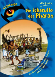 Buch-Cover, Christa Holtei: Die Schatulle des Pharao