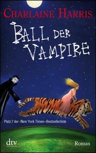Buch-Cover, Charlaine Harris: Der Ball der Vampire