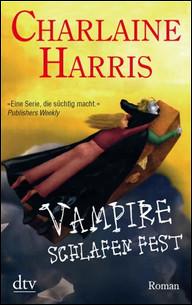 Buch-Cover, Charlaine Harris: Vampire schlafen fest