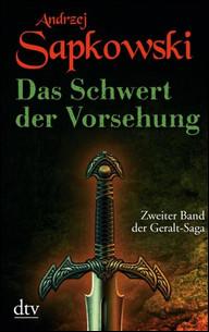 Buch-Cover, Andrzej Sapkowski: Das Schwert der Vorsehung