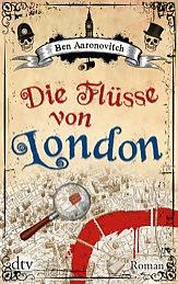 Buch-Cover, Ben Aaronovitch: Die Flüsse von London