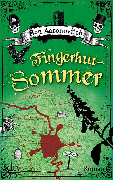 Buch-Cover, Ben Aaronovitch: Fingerhut-Sommer