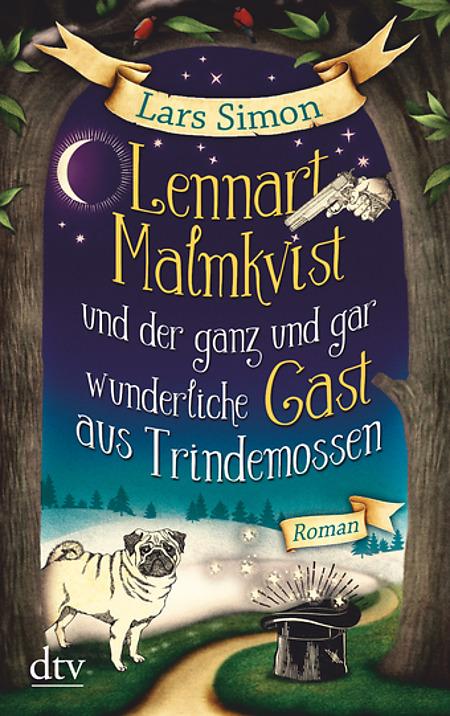 Buch-Cover, Lars Simon: Lennart Malmqvist und der ganz und gar wunderliche Gast aus Trindemossen