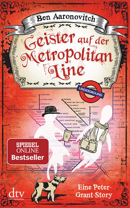 Buch-Cover, Ben Aaronovitch: Geister auf der Metropolitan Line