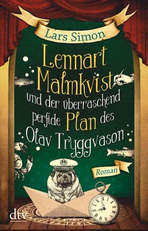 Buch-Cover, Lars Simon: Lennart Malmqvist und der überraschend perfide Plan des Olav Tryggvason