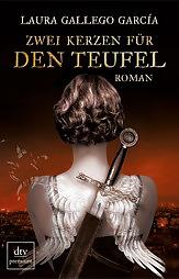 Buch-Cover, Laura Gallego  García: Zwei Kerzen für den Teufel
