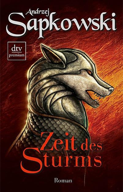 Buch-Cover, Andrzej Sapkowski: Zeit des Sturms