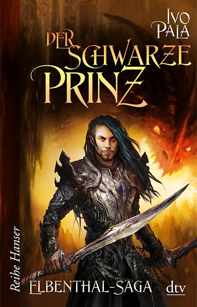 Buch-Cover, Ivo Pala: Der schwarze Prinz