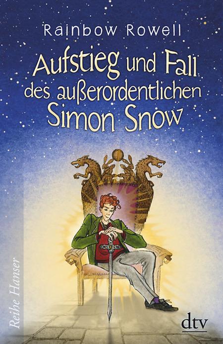 Buch-Cover, Rainbow Rowell: Aufstieg und Fall des außerordentlichen Simon Snow