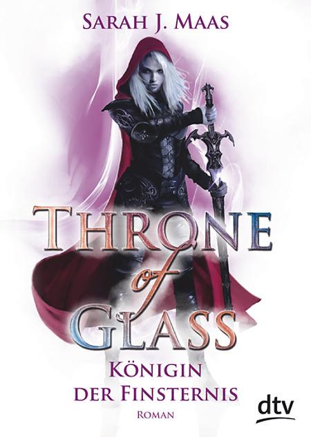 Buch-Cover, Sarah J. Maas: Throne of Glass - Königin der Finsternis